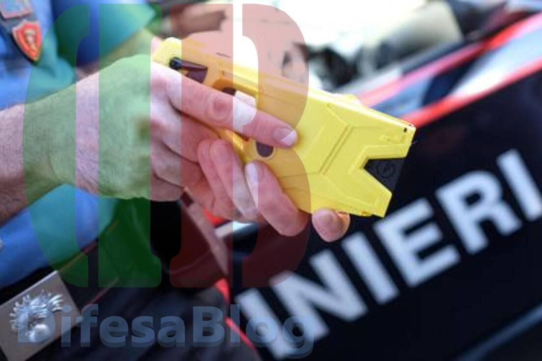 Taser per i carabinieri