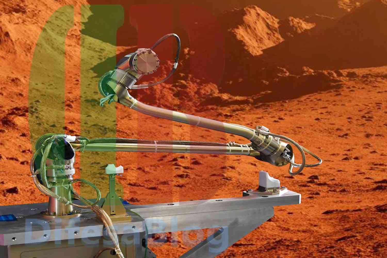 Bracci robotici su Marte