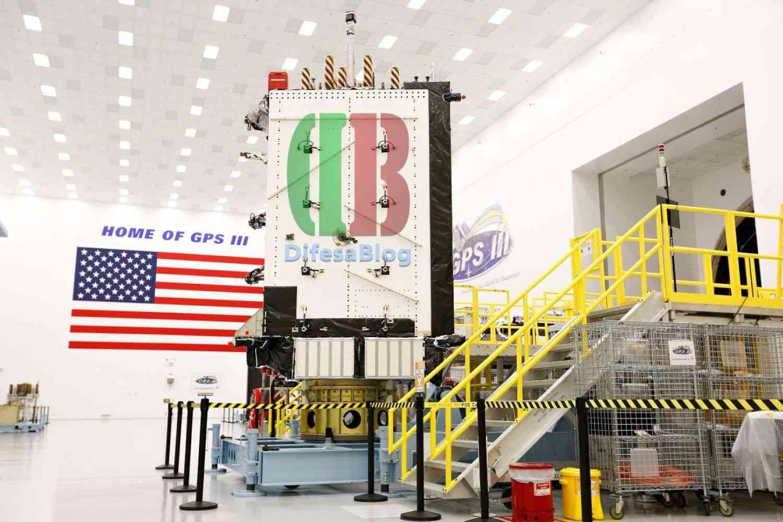 Il satellite GPS III di Lockheed Martin