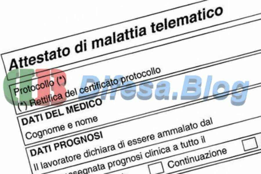 Certificato del medico di base