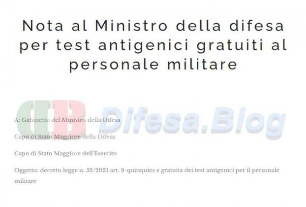 test antigenici gratuiti